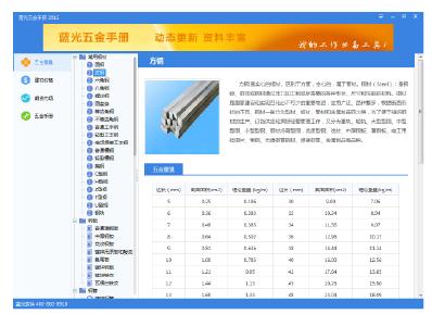 100多种钢材理论重量